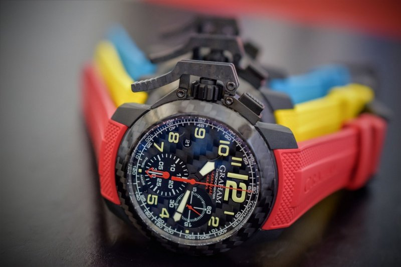 Graham Chronofighter Superlight Carbon Watch Review 2