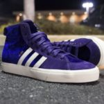 """Adidas Matchcourt High RX Na-Kel Smith """"Purple Velvet"""" Sneakers Review"""