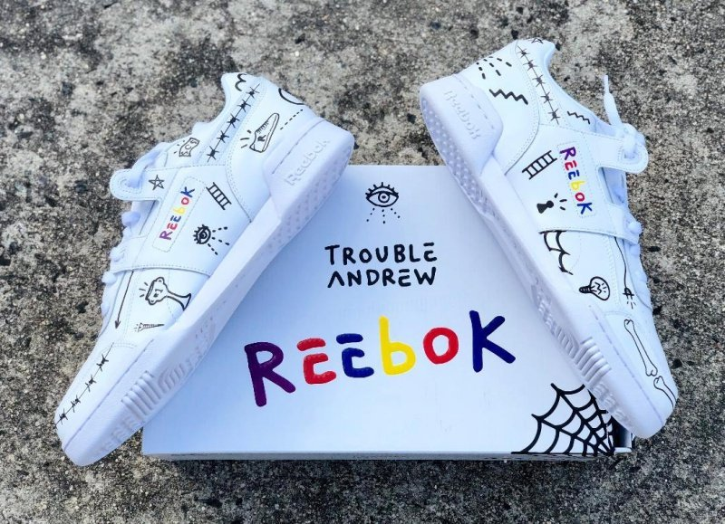2e46326aefd Reebok Classic Workout Plus 3AM x Trouble Andrew Review