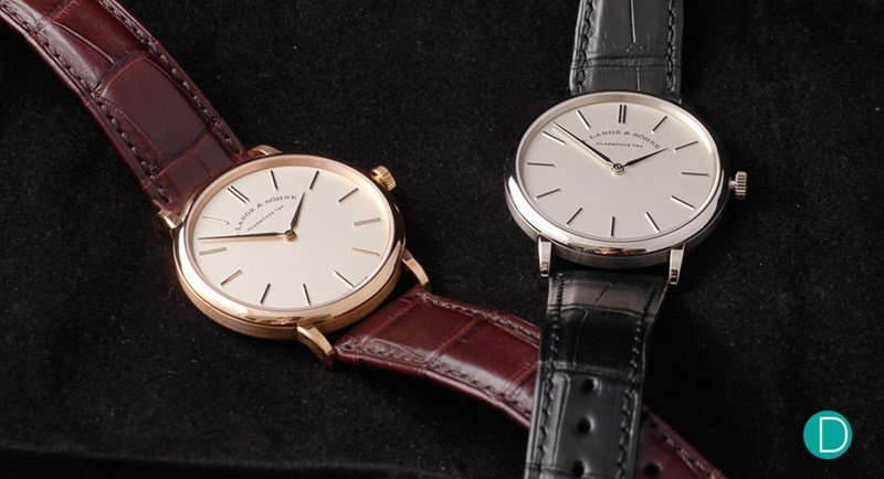 A.Lange & Sohne Saxonia Thin Watch Review 6