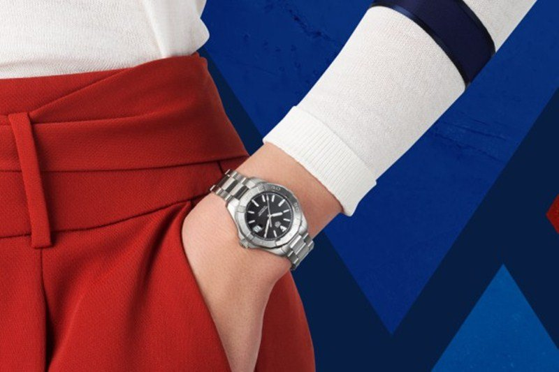 TAG Heuer Aquaracer Lady Calibre 9 Automatic Watch Review 3