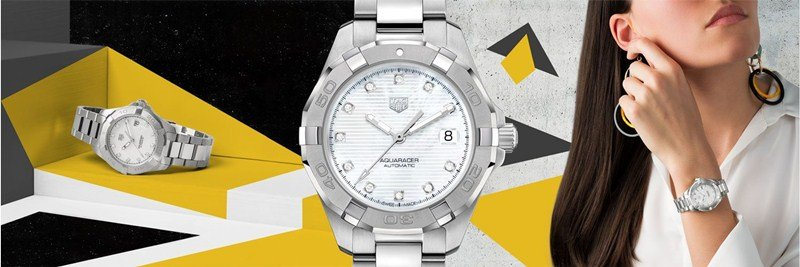 TAG Heuer Aquaracer Lady Calibre 9 Automatic Watch Review 5