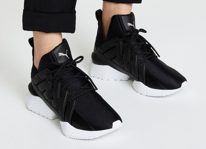 Puma Muse Echo Satin Sneakers Review 4