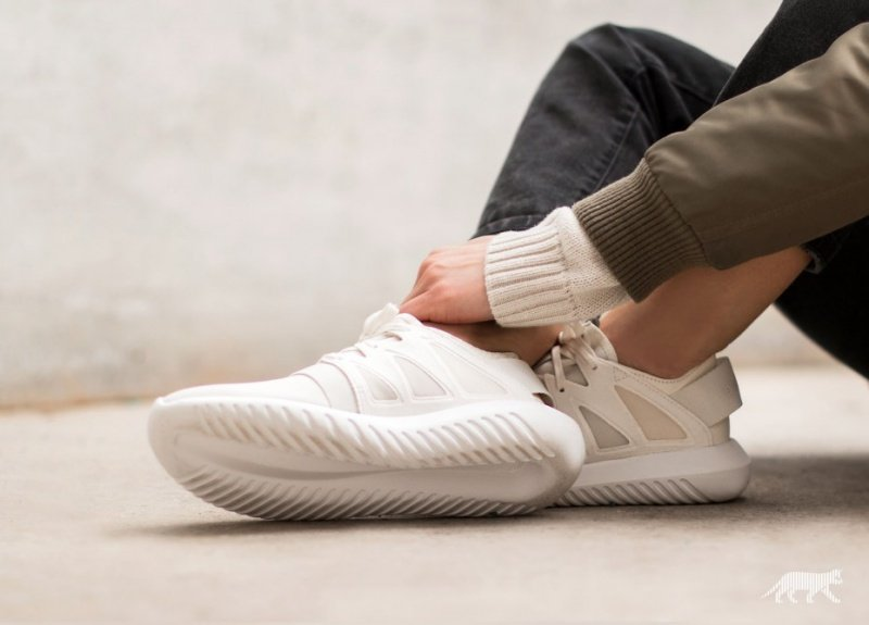 03a8f63df05c Adidas Tubular Viral Mixed-Material Sneakers Review 2