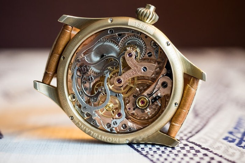 Montblanc 1858 Chronograph Tachymeter Limited Edition Watch Review 5