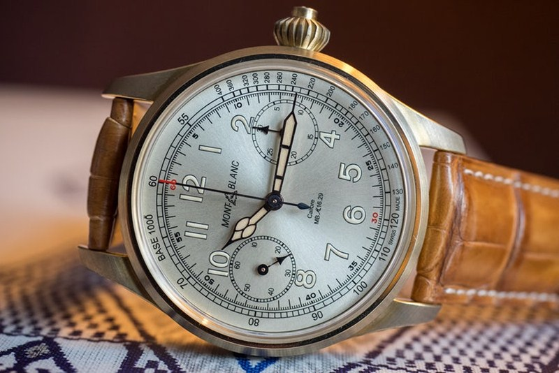 Montblanc 1858 Chronograph Tachymeter Limited Edition Watch Review 4