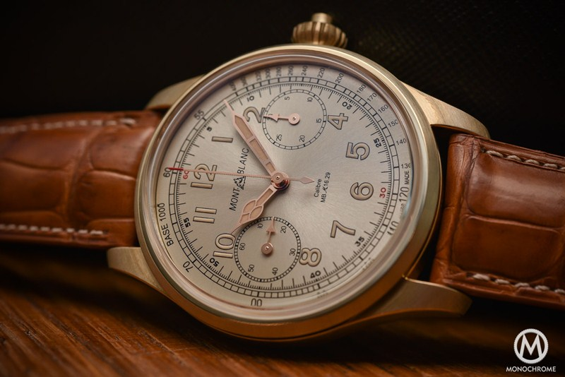 Montblanc 1858 Chronograph Tachymeter Limited Edition Watch Review 2