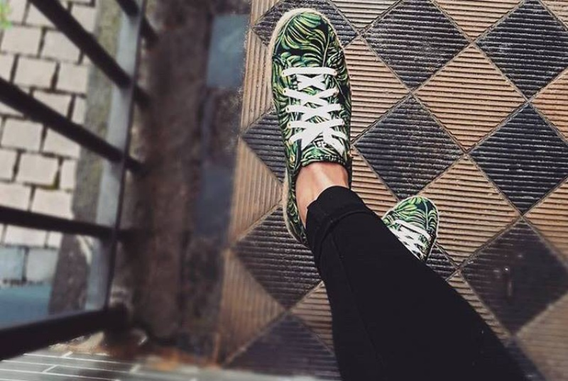 Keds X Rifle Paper Co. Triple Kick Sneakers in Paper Palms Sneakers Review 1