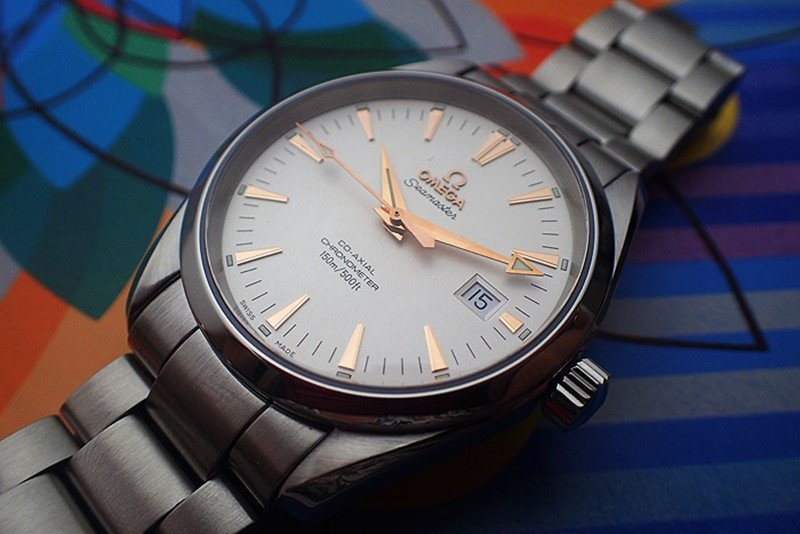 Omega Seamaster Aqua Terra 150M Co-Axial Master Chronometer Watch 8