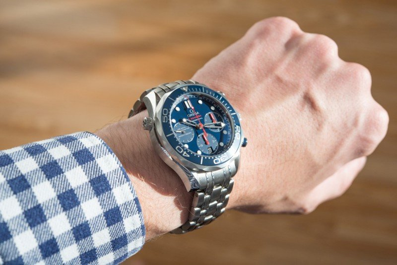 Omega Seamaster 300M Co-Axial Chronograph Watch Review 6