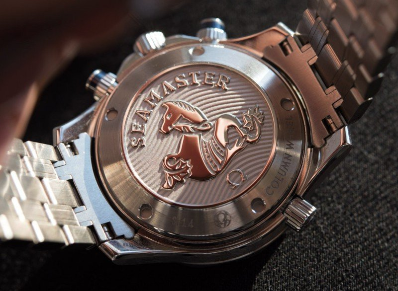 Omega Seamaster 300M Co-Axial Chronograph Watch Review 5