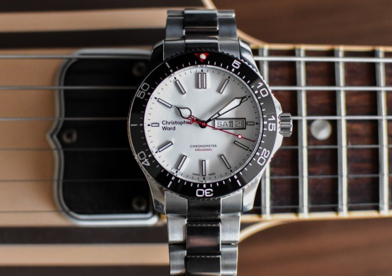 Christopher Ward C60 Trident Day Date COSC Watch Review