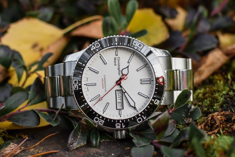 Christopher Ward C60 Trident Day Date COSC Watch Review 5