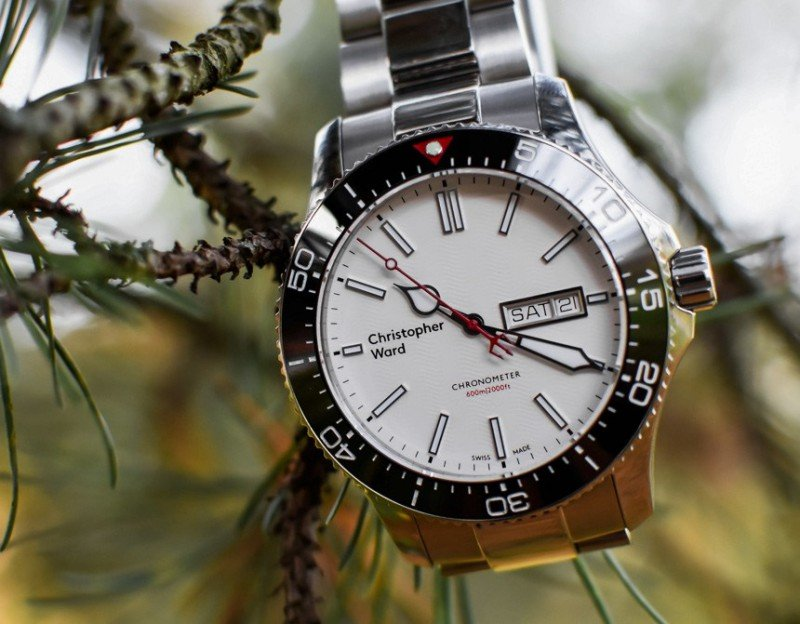 Christopher Ward C60 Trident Day Date COSC Watch Review 4