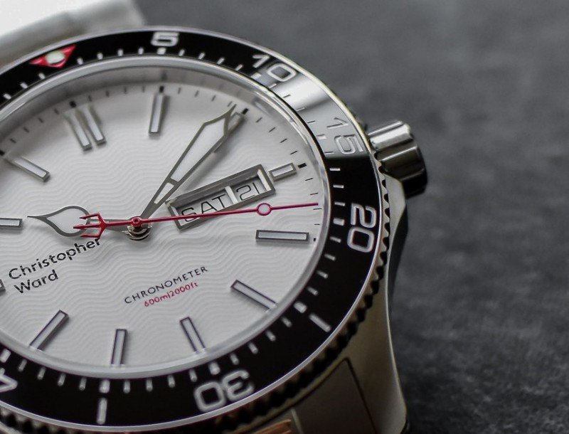 Christopher Ward C60 Trident Day Date COSC Watch Review 3
