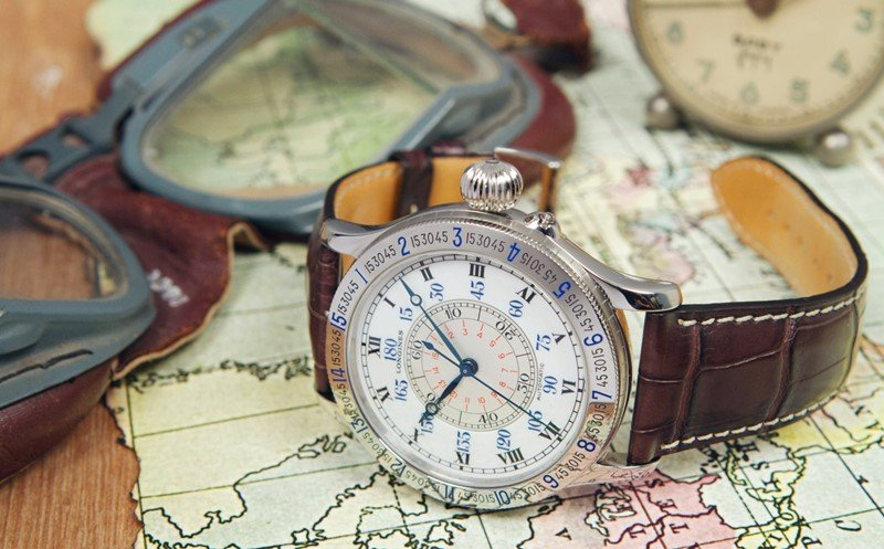Longines Lindbergh 47MM Automatic 'Hour Angle' Watch 6