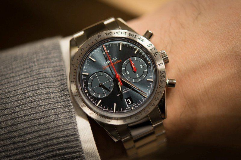 Omega Speedmaster '57 Chronograph Watch Review 7