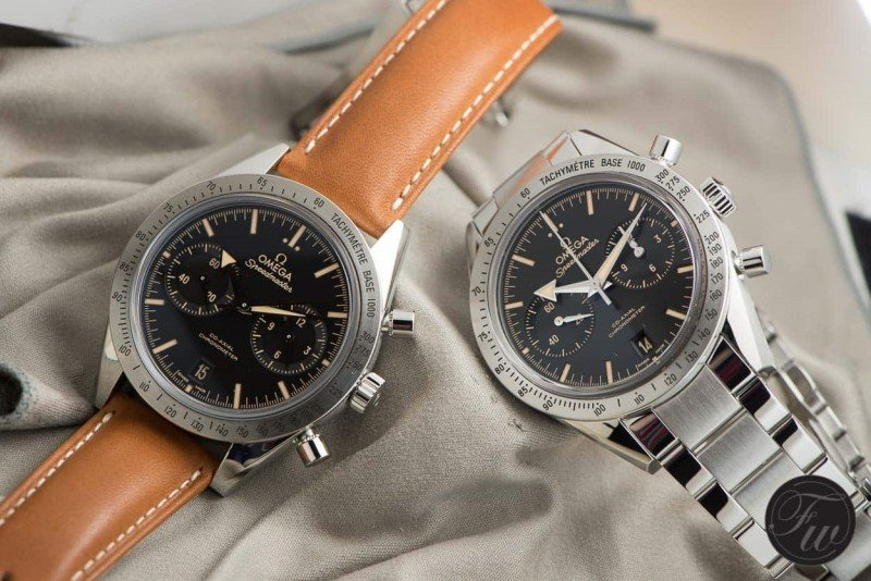 Omega Speedmaster '57 Chronograph Watch Review 5