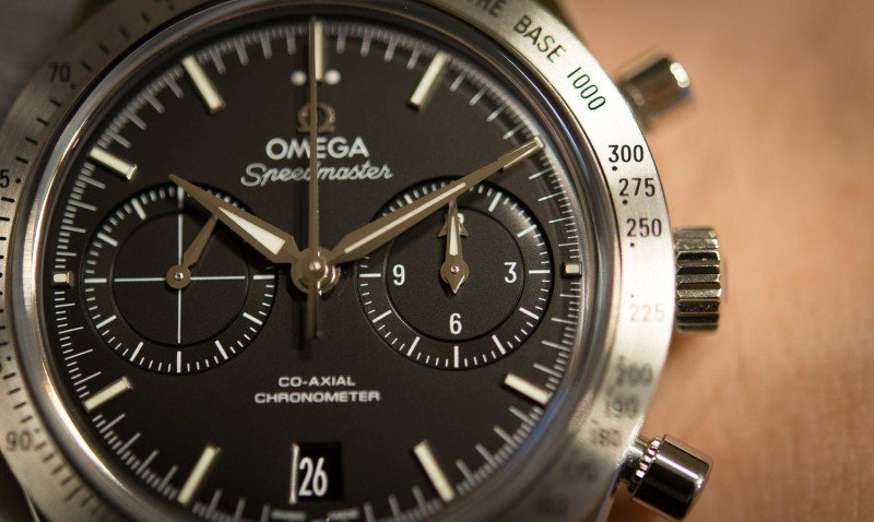 Omega Speedmaster '57 Chronograph Watch Review 2
