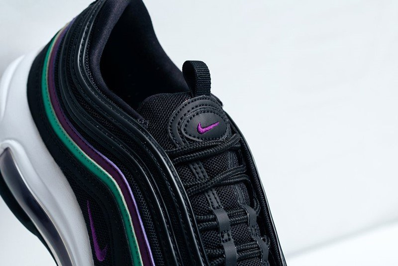 Nike WMNS Air Max 97 Black Bright Grape Sneakers 1