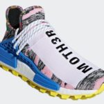 Pharrell x Adidas NMD Hu Solar Light Pink Sneakers 6