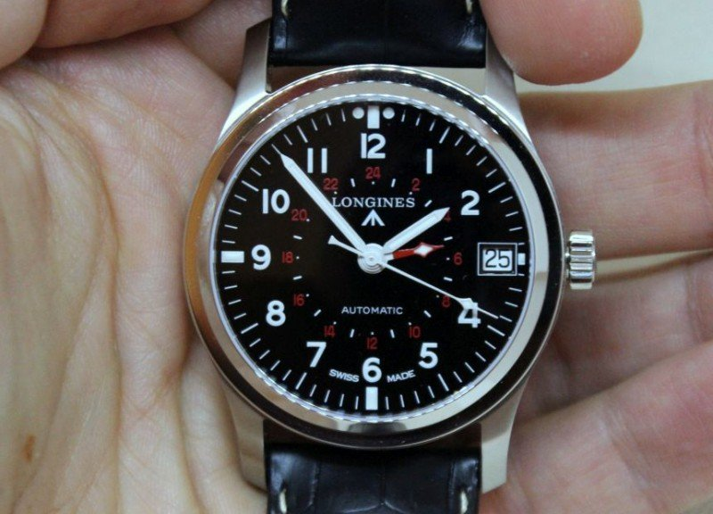 Longines Heritage Avigation GMT Watch Review 7