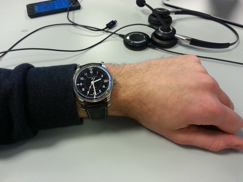 Longines Heritage Avigation GMT Watch Review 6