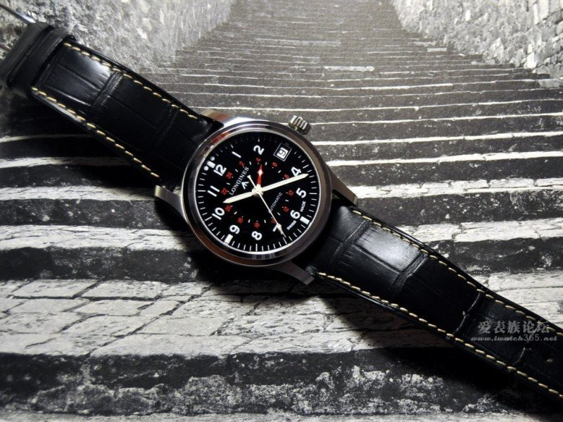 Longines Heritage Avigation GMT Watch Review 5