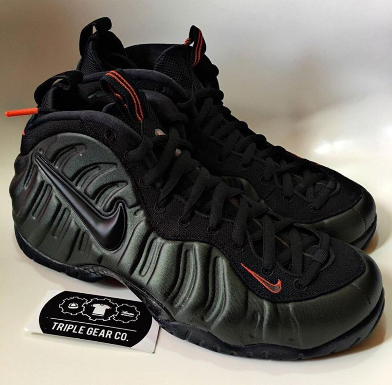 584e846dfde ... Nike Air Foamposite Pro Sequoia Sneakers ...