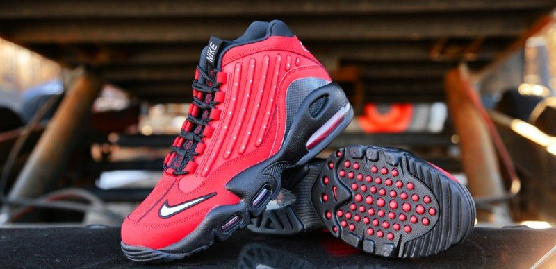 Nike Air Griffey Max 2 University Red Sneakers Review 6