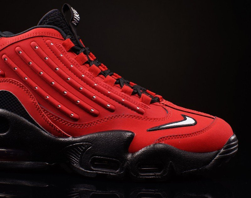 Nike Air Griffey Max 2 University Red Sneakers Review 3