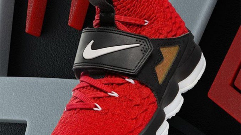 Nike LeBron 15 'Red Diamond Turf' Sneakers Review 6