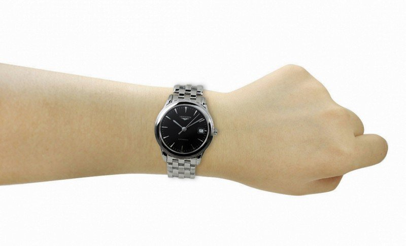Longines Flagship L4.774.4.52.6 Watch Review 5