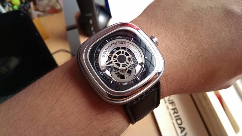 SEVENFRIDAY P1 1 Watch Review 5