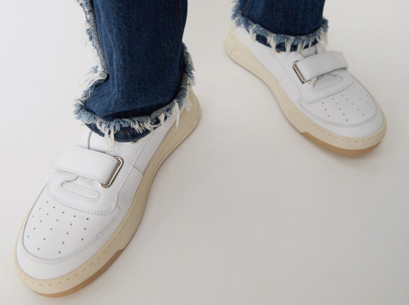 Acne Studios Steffey Leather Sneakers Review