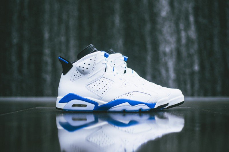 "hot sales 1fa3d 608ad Air Jordan 6 Retro ""Sport Blue"" Review"