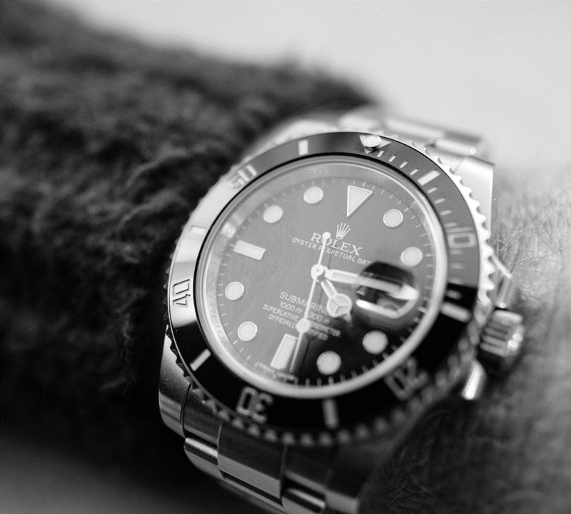 Rolex Submariner Close Up