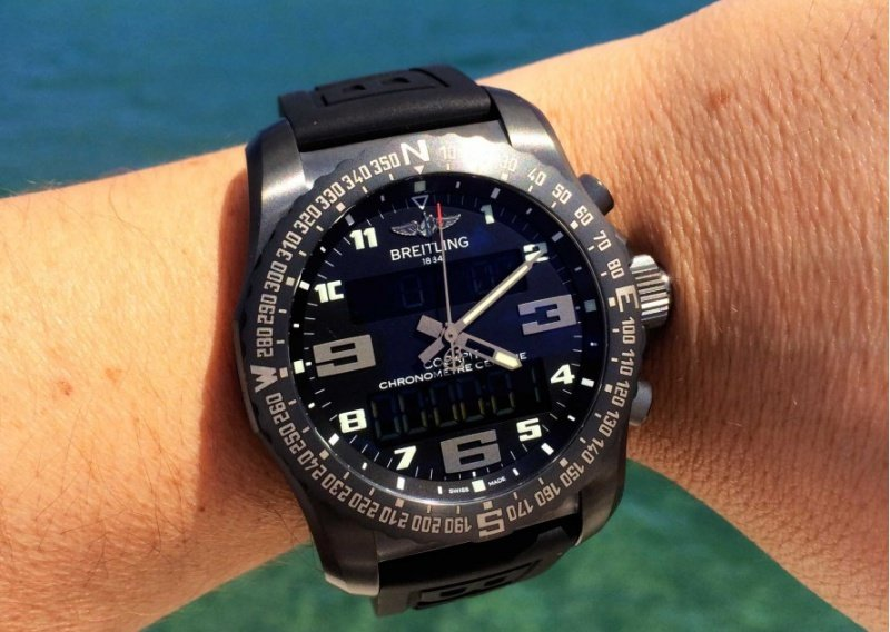 Breitling Professional Cockpit B50 Watch Review 6