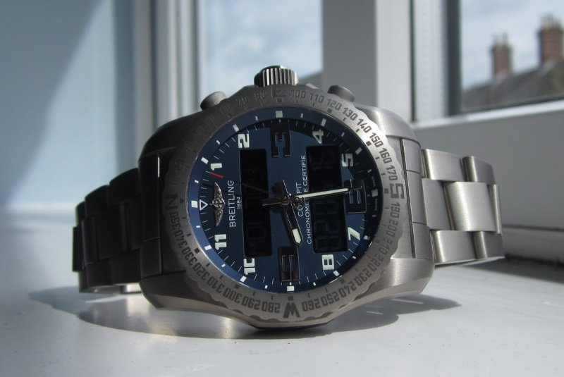 Breitling Professional Cockpit B50 Watch Review 4