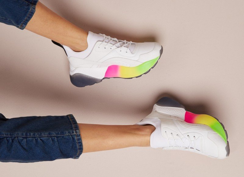 Stella McCartney Eclypse Rainbow Sneakers Review 3