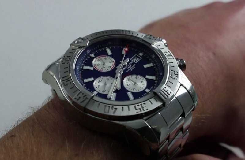 Breitling Super Avenger II Chronograph Watch Review 4