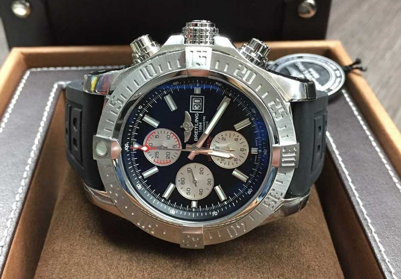 Breitling Super Avenger II Chronograph Watch Review 3