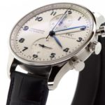 IWC Schaffhausen Portuguese Chronograph IW371446 Watch Review - Featured image