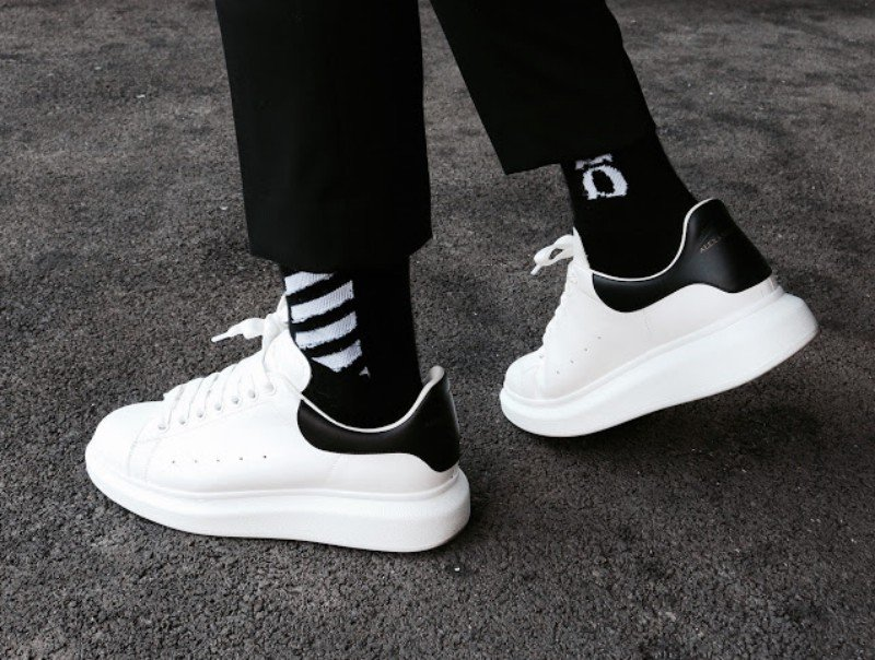 uk availability amazing selection fashion Alexander McQueen Oversized Sneakers Review