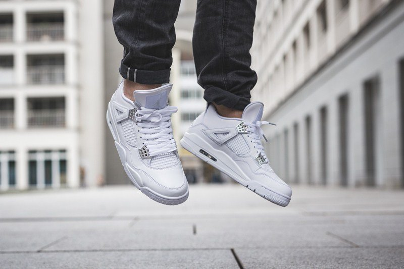 Air Jordan 4 Retro Pure Money Sneakers Review 5