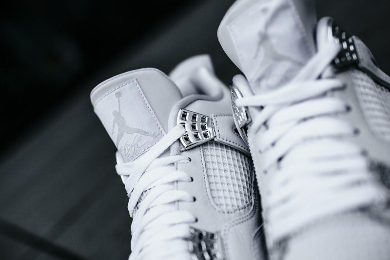 Air Jordan 4 Retro Pure Money Sneakers Review 4