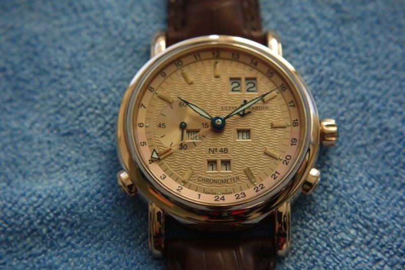 Ulysse Nardin GMT Perpetual Watch Review 6