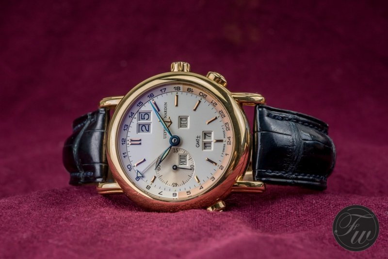 Ulysse Nardin GMT Perpetual Watch Review 4