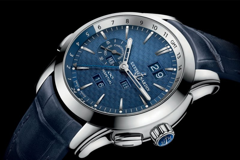 Ulysse Nardin GMT Perpetual Watch Review 1