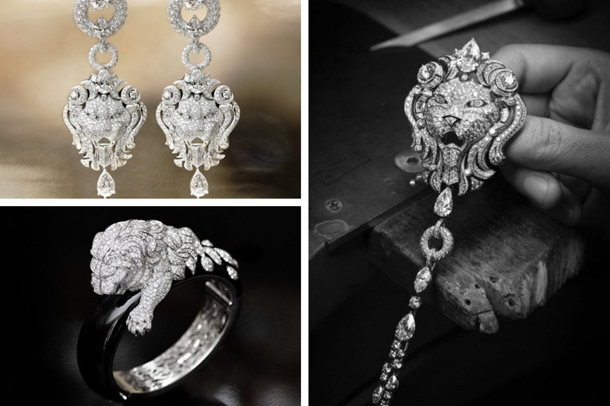 Chanel Lion jewelry Collection